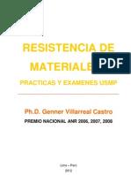 92327517 Libro Resistencia de Materiales i Practicas y Examenes Usmp