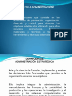 EXPOSICION ADMINISTRACION ESTRATEGICA