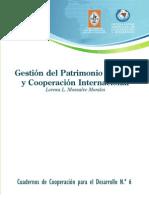Gestión del Patrimonio Cultural y Cooperación Internacional