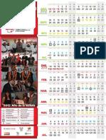 Calendario CECyTEH 2012 2013