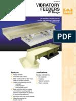 VF Range Vibratory Feeder Brochure