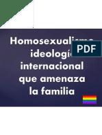 La Ideologia Homosexual (1)
