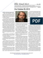289 - Benjamin Fulford for October 29, 2012