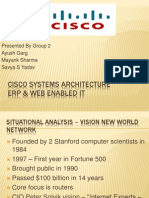 Cisco Systems Architecture - Group2