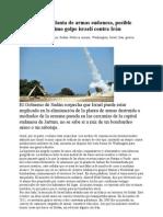 Ataque a una planta de armas sudanesa, posible ensayo de próximo golpe israelí contra Irán