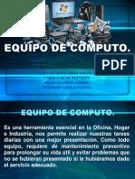 Exposicion Equipo de Computo