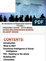 Group 1 - EI & Relationship Systems Intelligence