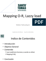 Mapping O-R, Lazzy Load