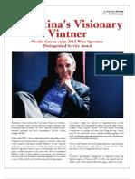 Argentina's Visionary Vintner