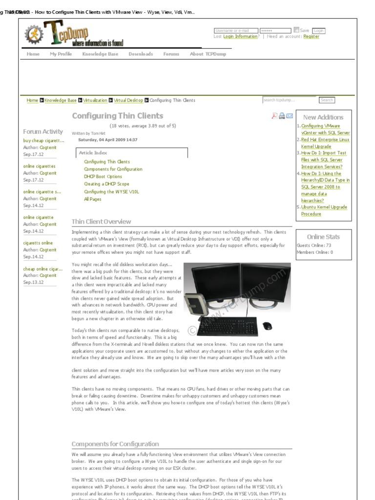 Thin Clients | Desktop Virtualization | File Transfer Protocol
