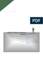 DB Implementation Plan