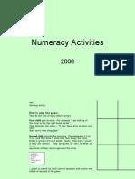 Numeracy Activities