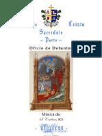 VÉSPERAS DO OFÍCIO DE DEFUNTOS
