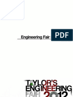 Taylor_s Engineering Fair December 2012