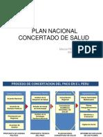 Planes Concertados Salud