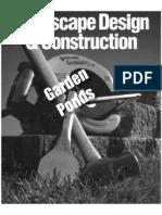 Landscape Design & Construction Garden Ponds