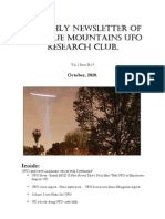 The Blue Mountains UFO Research Club Newsletter - October 2010