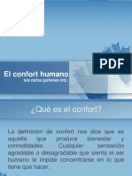 El Confort Humano
