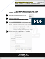 Guía de publicación de bienes raíces