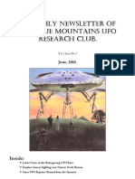 The Blue Mountains UFO Research Club Newsletter - June 2010
