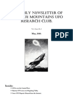 The Blue Mountains UFO Research Club Newsletter - May 2010