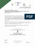 Carta aceptación Red E Mun Tehuacan. Jorge Lera. 17-19Oct12