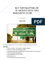 The Blue Mountains UFO Research Club Newsletter - April 2010