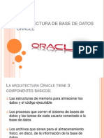 Arquitectura de Base de Datos Oracle