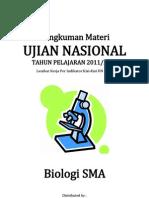 Rangkuman Materi UN Biologi 2012 (Lembar Kerja)