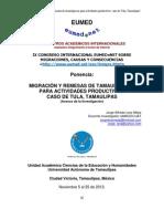 Eumed. Ponencia JLM. IX Congreso on Line Sobre Migraciones. 5 Nov 2012