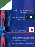 Norma Oficial Mexicana de Has