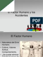 El Factor Humano en Los Accidentes 1