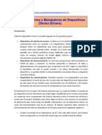 Dispositivos y Manejadores de Dispositivos