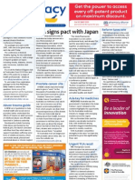 Pharmacy Daily for Tue 30 Oct 2012 - PSA Japan pact, health survey, prostate cancer, conference giveaway and more