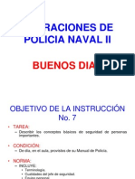Policia Naval II Objetivo 7
