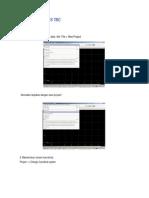Petunjuk Software TBC