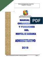 Mof Administrativo Hosp Barranca