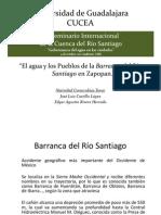 El Agua y Los Pueblos de La Barranca IVSICRS 041012