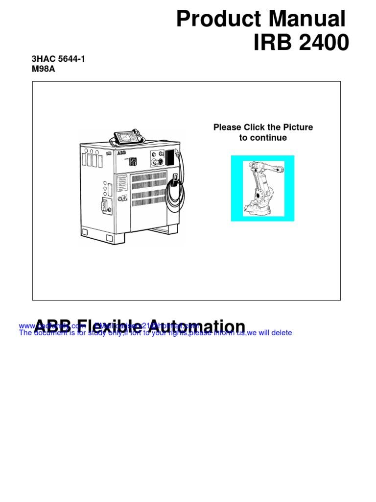 Industrial Robots from ABB Robotics