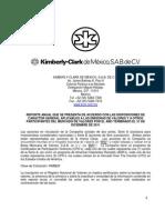 KIMBERLY-CLARK DE MÉXICO, S.A.B. DE C.V