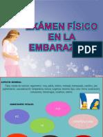 Examen Fisico en La Embarazada