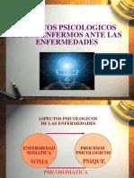 ENFERMO ANTE LA ENFERMEDAD - PSICOLOGÍA