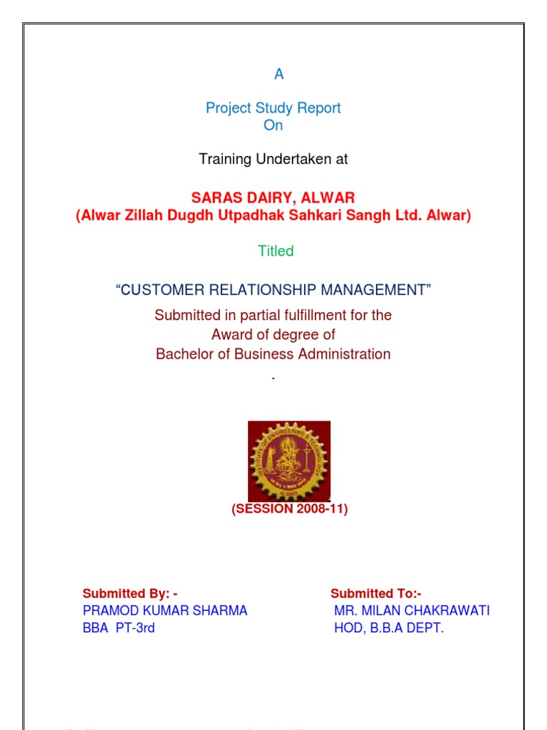 Saras Dairy Alwar | Consumer Behaviour | Behavior