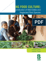 Chepang Food Culture Contribution of Wild Edible and Neglected Plant Species