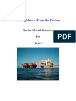 OIL N GAS Project Method Statement