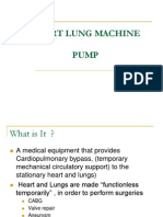 Heart Lung Machine Pump