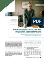 Adm Financeira - Pequenas e Médias Empresas