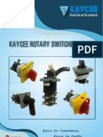 Kaycee Rotary Switches