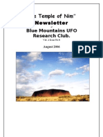 The Temple of Nim Newsletter - August 2006