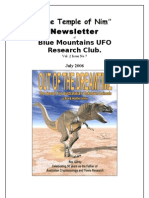 The Temple of Nim Newsletter - July 2006